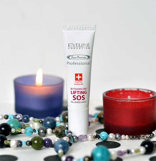 Uroda 40 plus - Eveline Cosmetics - błyskawiczny lifting SOS na kurze łapki
