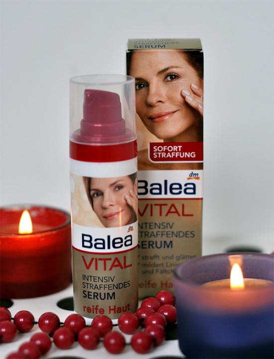 Uroda 40 plus - Balea Vital - serum intensywnie ujędrniające