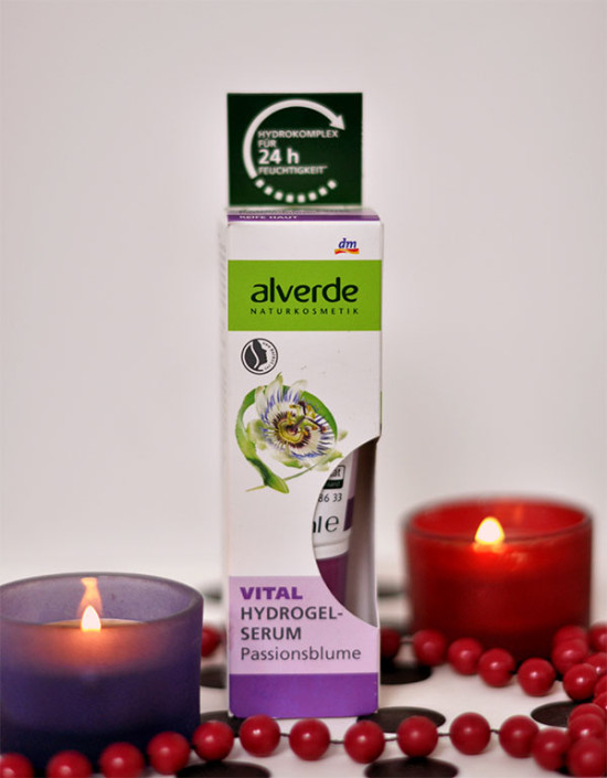 Uroda 40 plus - Alverde - Hydrogel Serum z ekstraktem z passiflory