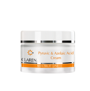 Uroda 40 plus - Clarena AHA Fruit Line - Pyruvic & Azeliac Acid Cream - krem z kwasem pirogronowym i azelainowym do cery tłustej i mieszanej 50 ml - 70 zł