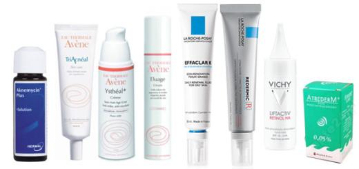 Uroda 40 plus - Retinol i retinoidy - produkty