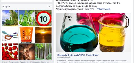 Uroda 40 plus - Biochemia Urody linkuje do mnie na FB